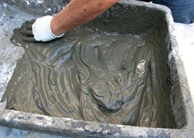 Цементный раствор в ярославле купить краску по бетону в перми